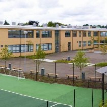 Synthetic Turf pitch at Magherafelt High School